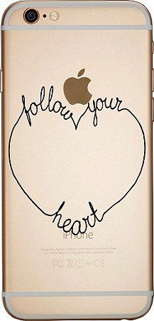 Capinha para celular - Follow Your Heart