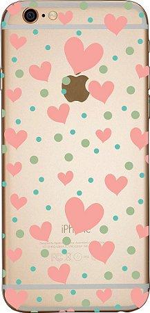 Capinha para celular - Corações 5