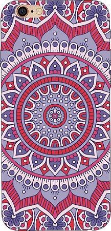 Capinha para celular - Mandala Roxa