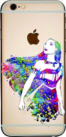 Capinha para celular - Princesa Pocahontas