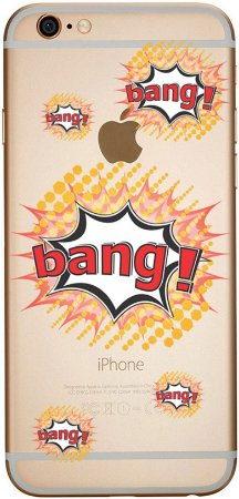 Capinha para celular - bang bang