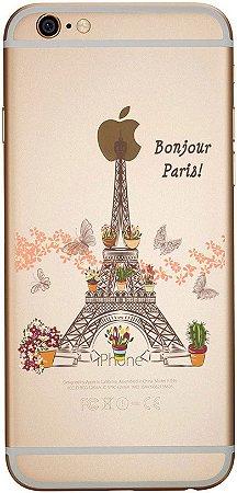Capinha para celular - Bonjour Paris