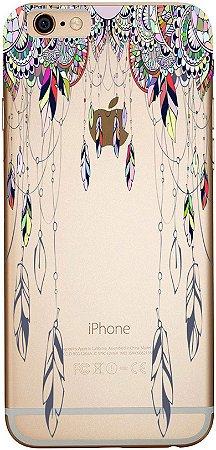 Capinha para celular - Penas e Mandalas