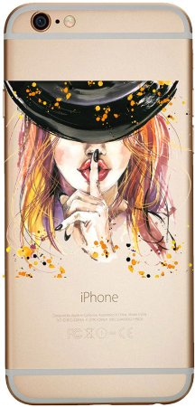 Capinha para celular - Quietinho