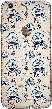 Capinha para celular - Flor Vintage