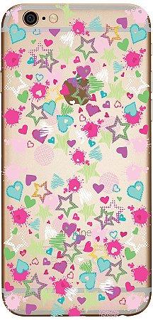 Capinha para celular - Estrelas Coloridas