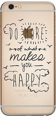 Capinha para celular - Do What Make You Happy