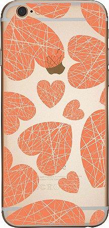 Capinha para celular - Corações 8