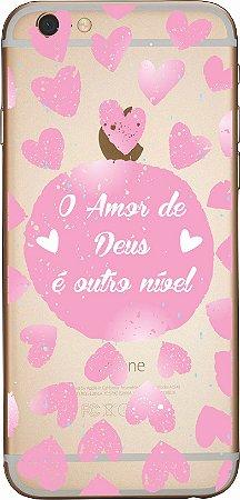 Capinha para celular - Amor de Deus