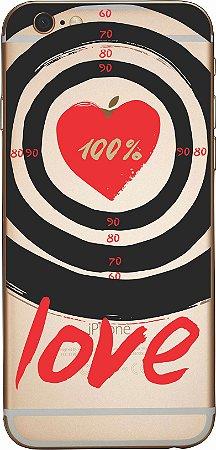 Capinha para celular - 100% Love