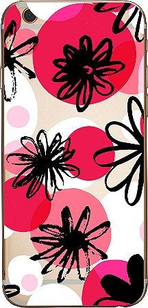 Capinha para celular - Pintura em Flor