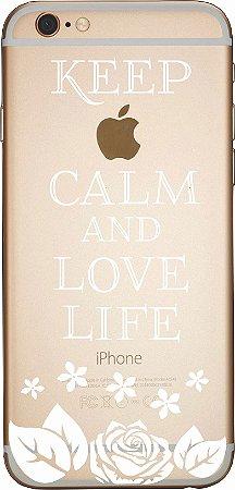 Capinha para celular - Love and Life