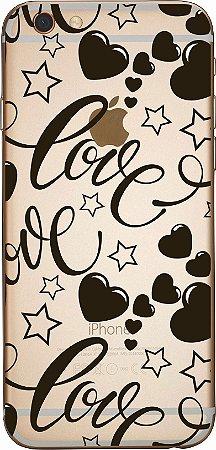 Capinha para celular - Black Heart