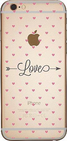 Capinha para celular - Love Corações