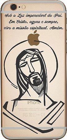 Capinha para celular - Em Cristo