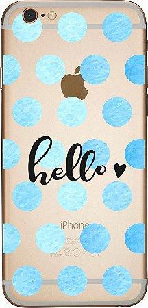 Capinha para celular - Hello