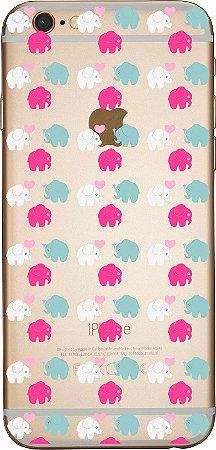 Capinha para celular - Elefantinhos