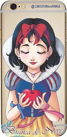 Capinha para celular - Princesa Branca de Neve sem fundo