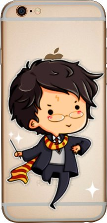 Capinha para celular - Harry Potter 3