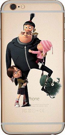 Capinha para celular -  Familia Meu favorito Minions