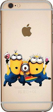 Capinha para celular -  Minions Cantando