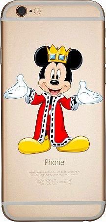 Capinha para celular -  Rei Mickey