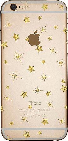 Capinha para celular- Estrelas iluminadas
