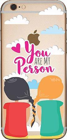 Capinha para celular - You are my person Grey´s Anatomy