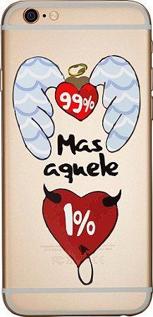 Capinha para celular - Aquele 1%