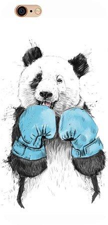 Capinha para celular - Urso Boxe