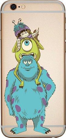 Capinha para celular - Monstros S.A