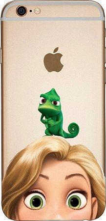Capinha para celular - Rapunzel e Pascal