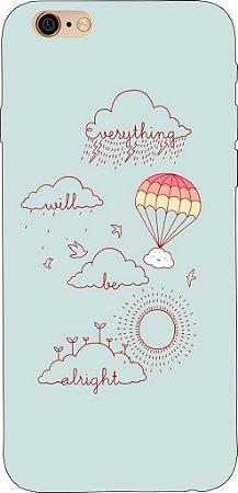 Capinha para celular - Everything will be Alright