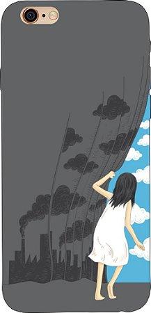 Capinha para celular - Há Sempre um Céu Azul