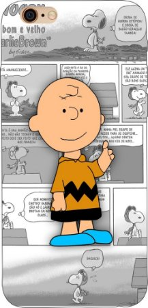 Capinha para celular - Charlie Brown