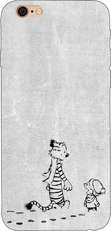 Capinha para celular - Calvin e Haroldo