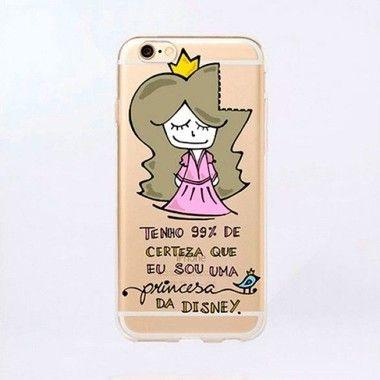 Capinha para celular - Princesa