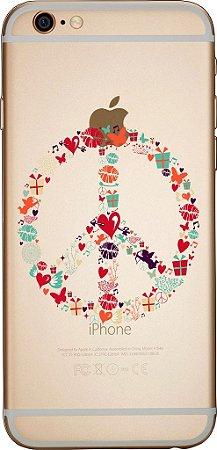 Capinha para celular - Paz