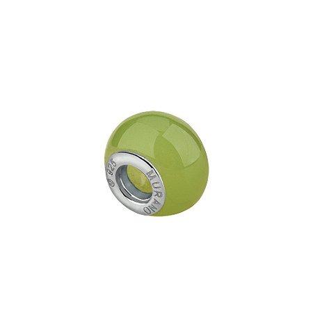 Berloque murano separador verde