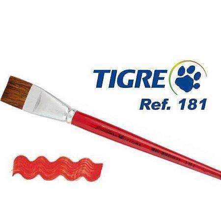 Pincel Tigre (Pêlo Orelha de Boi)
