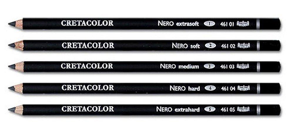 Lápis Esboço Cretacolor Charcoal Nero