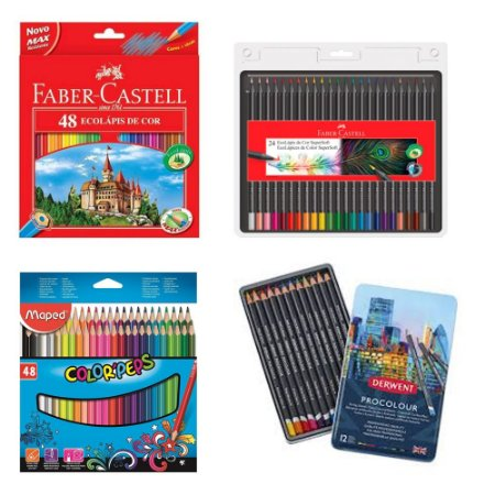Kit Master Para Desenhos Coloridos - Andrarte- Combo Variado