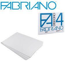 Papel p/ Desenho 220g A4+ 4L c/10 Fabriano