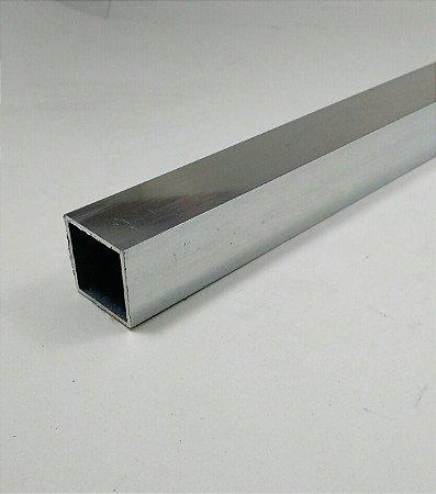 Tubo Quadrado Aluminio 1 X 1/16 (2,54cm X 1,58mm)
