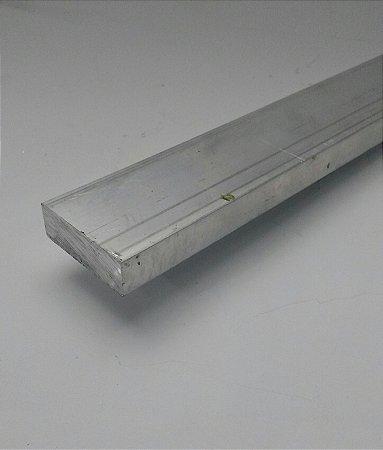 "Barra Chata Aluminio 1.1/2"" X 1/2"" (3,81cm X 1,27cm)"