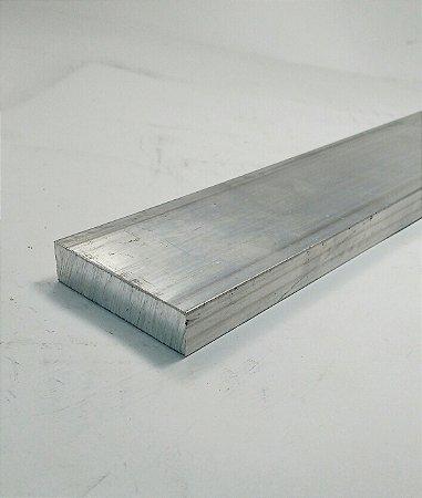"Barra Chata Aluminio 2.1/2"" X 1/2"" (6,35cm X 1,27cm)"