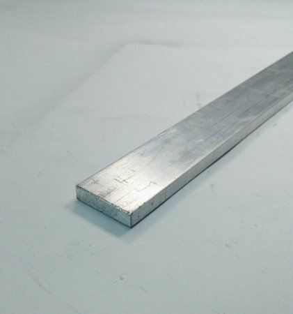 "Barra Chata de Aluminio 1"" X 1/4"" (2,54cm X 6,35mm)"
