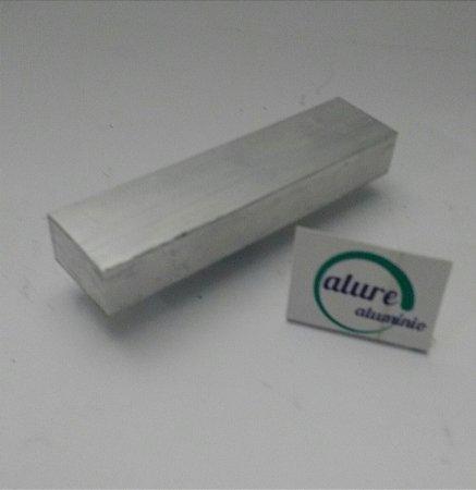 """Barra Chata de Aluminio 1"""" X 5/8"""" ( 2,54cm X 1,58cm)"""