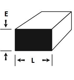 """Barra Chata de Aluminio 2"""" X 1/4"""" (5,08cm X 6,35mm)"""