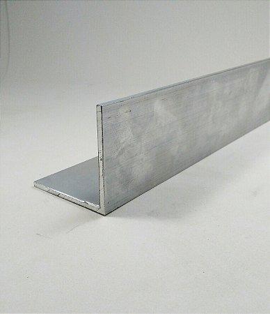 """Cantoneira de Aluminio 2"""" X 1/8"""" (5,08cm X 3,17mm)"""
